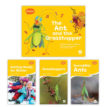 The Ant and the Grasshopper Theme Set from Fables & the Real World