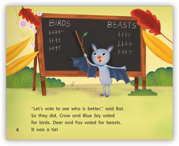 The Birds, the Beasts, and the Bat Leveled Book