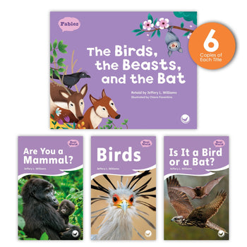 The Birds, the Beasts, and the Bat Theme Guided Reading Set from Fables & the Real World