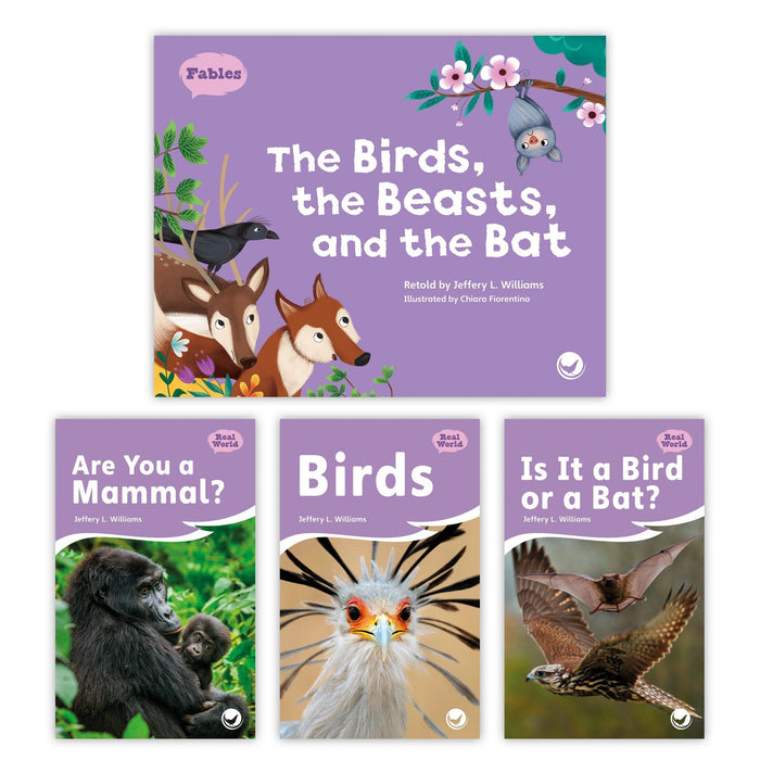 The Birds The Beasts And The Bat Theme Set Image Book Set