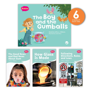 The Boy and the Gumballs Theme Guided Reading Set from Fables & the Real World