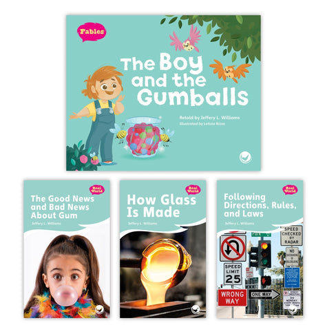 The Boy And The Gumballs Theme Set Image Book Set