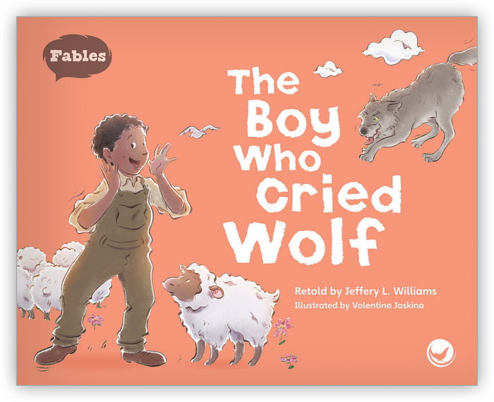 The Boy Who Cried Wolf Big Book Leveled Book