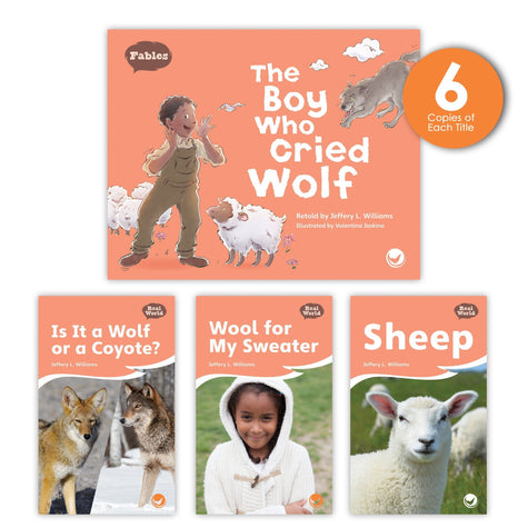 The Boy Who Cried Wolf Theme Guided Reading Set Image Book Set