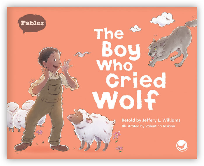 The Boy Who Cried Wolf Leveled Book