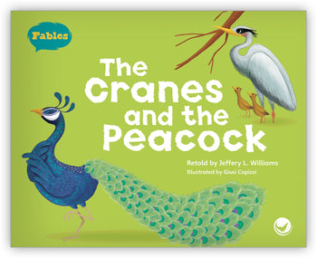 The Cranes and the Peacock Big Book from Fables & the Real World