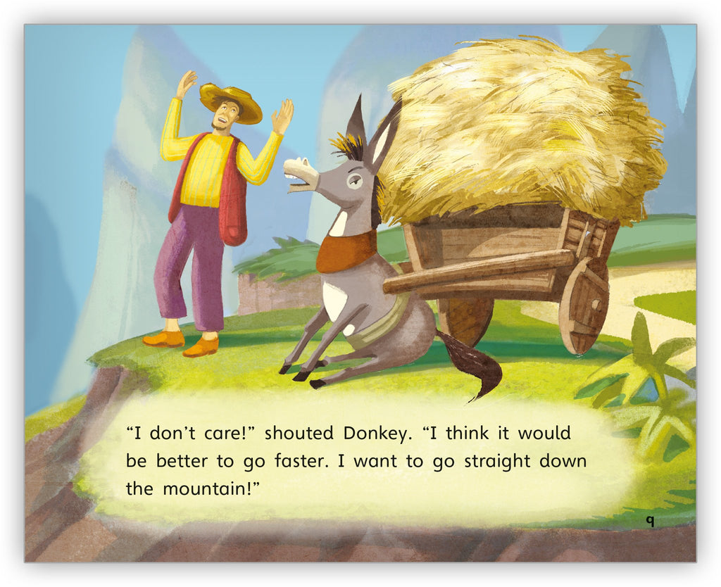 The Donkey and His Driver
