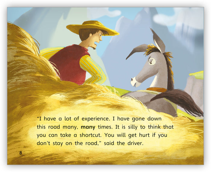 The Donkey and His Driver Big Book from Fables & the Real World