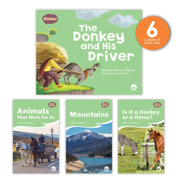 The Donkey and His Driver Theme Guided Reading Set from Fables & the Real World
