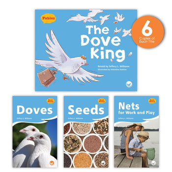 The Dove King Theme Guided Reading Set from Fables & the Real World