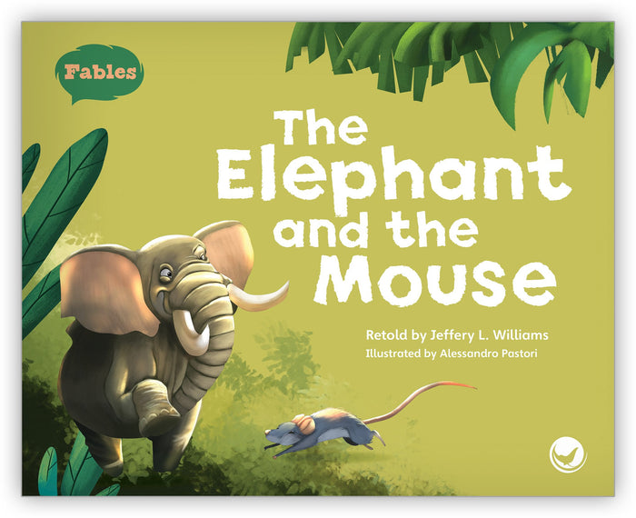 The Elephant and the Mouse Big Book Leveled Book