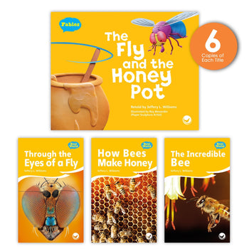 The Fly and the Honey Pot Theme Guided Reading Set from Fables & the Real World
