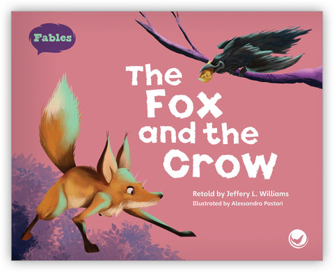 The Fox and the Crow Big Book from Fables & the Real World