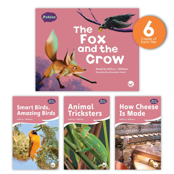 The Fox and the Crow Theme Guided Reading Set from Fables & the Real World