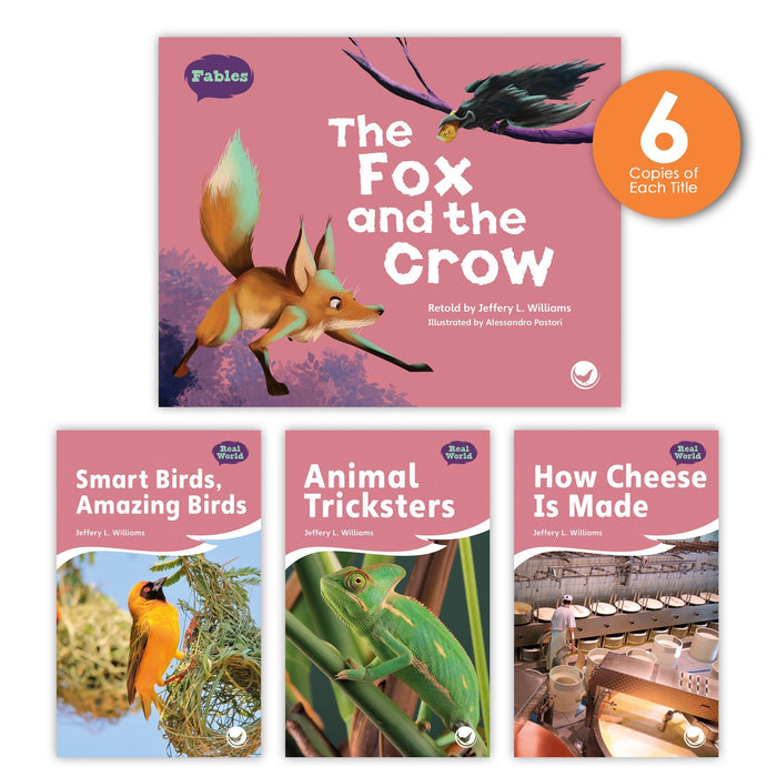 The Fox And The Crow Theme Guided Reading Set Image Book Set