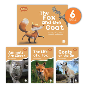 The Fox and the Goat Theme Guided Reading Set from Fables & the Real World