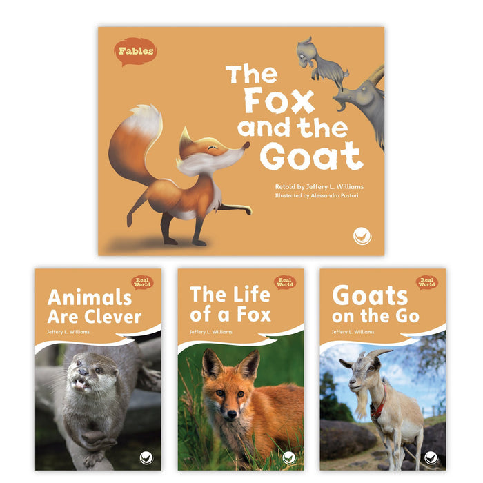 The Fox And The Goat Theme Set Image Book Set