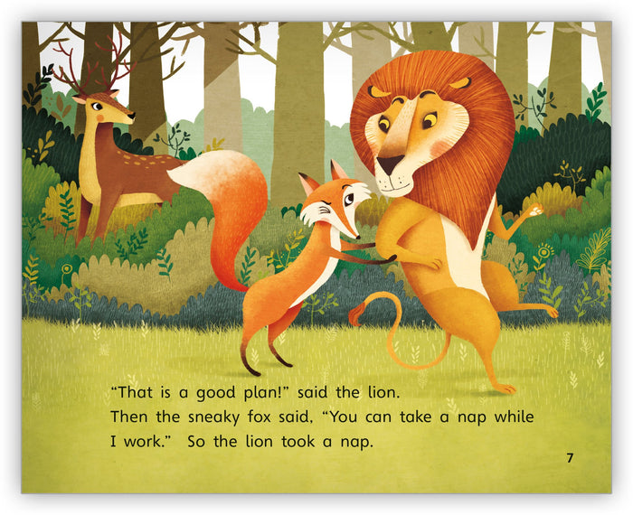 The Fox, the Lion, and the Deer Big Book from Fables & the Real World
