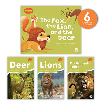 The Fox, the Lion, and the Deer Theme Guided Reading Set from Fables & the Real World