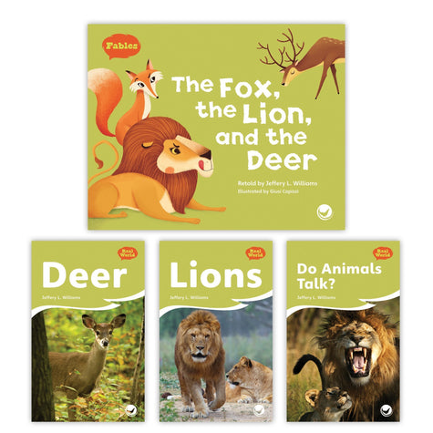 The Fox The Lion And The Deer Theme Set Image Book Set