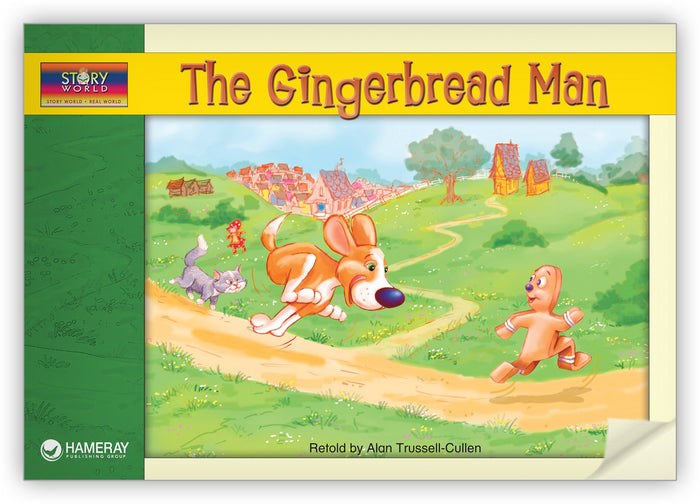 The Gingerbread Man Leveled Book