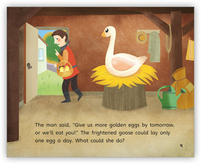 The Goose and the Golden Eggs Big Book from Fables & the Real World