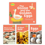 The Goose And The Golden Eggs Theme Set Image Book Set