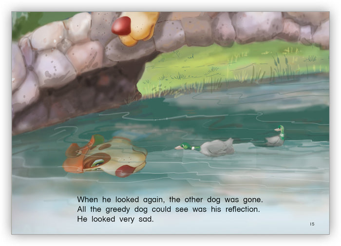The Greedy Dog and the Very Big Bone Leveled Book