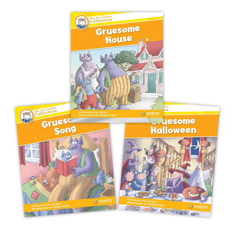 The Gruesomes Character Set from Joy Cowley Collection