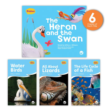 The Heron and the Swan Theme Guided Reading Set from Fables & the Real World
