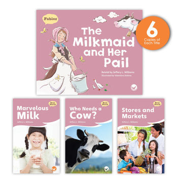 The Milkmaid and Her Pail Theme Guided Reading Set from Fables & the Real World