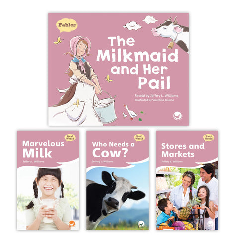 The Milkmaid And Her Pail Theme Set Image Book Set