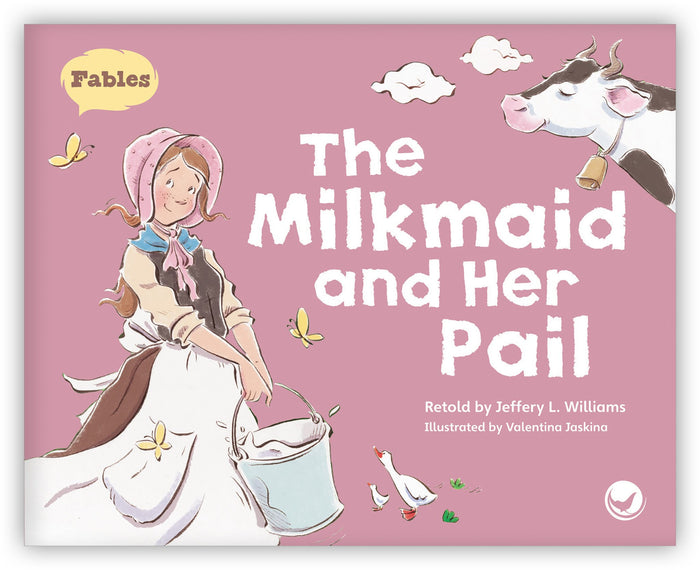 The Milkmaid and Her Pail Leveled Book