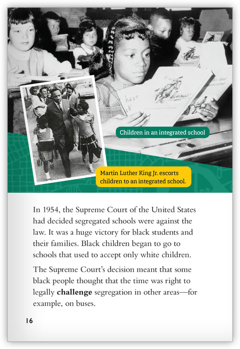 The Montgomery Bus Boycott from Inspire!
