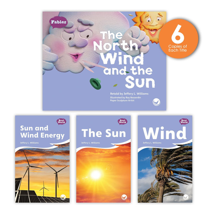 The North Wind And The Sun Theme Guided Reading Set Image Book Set