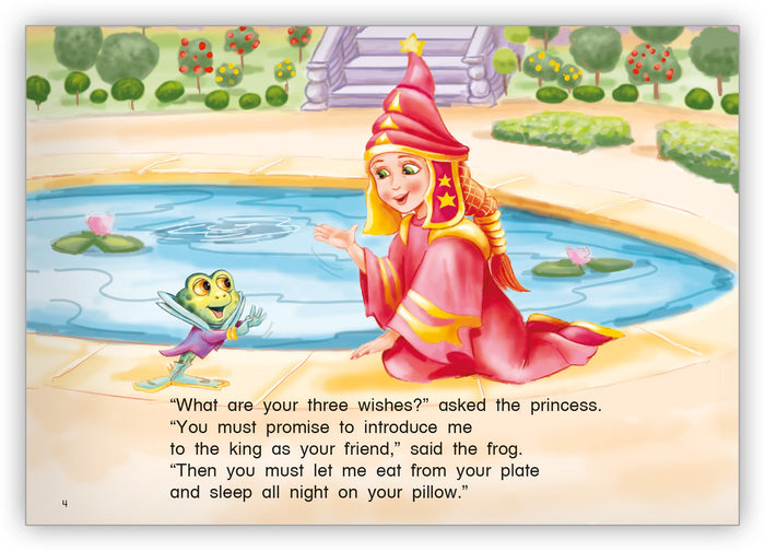 The Princess and the Frog Leveled Book