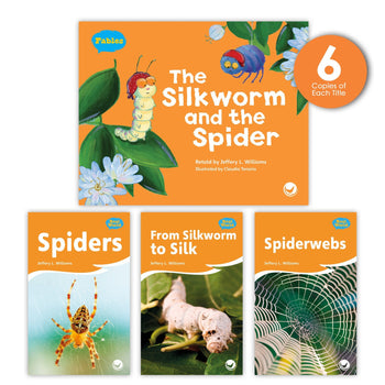 The Silkworm and the Spider Theme Guided Reading Set from Fables & the Real World