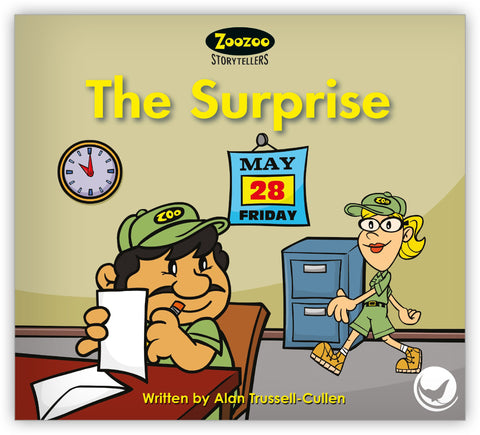 The Surprise Teacher's Edition from Zoozoo Storytellers