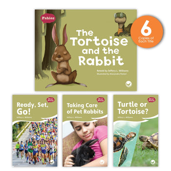 The Tortoise and the Rabbit Theme Guided Reading Set from Fables & the Real World