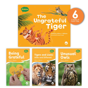 The Ungrateful Tiger Theme Guided Reading Set from Fables & the Real World