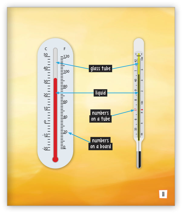 Thermometers Leveled Book
