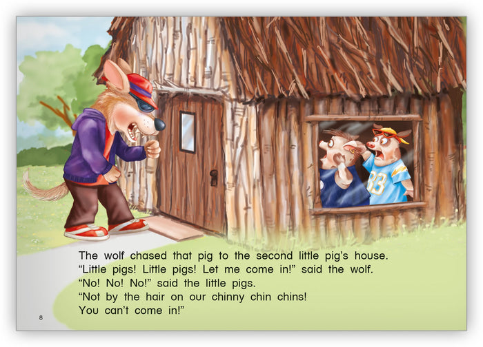 Three Little Pigs Leveled Book