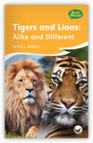 Tigers and Lions: Alike and Different Big Book Leveled Book