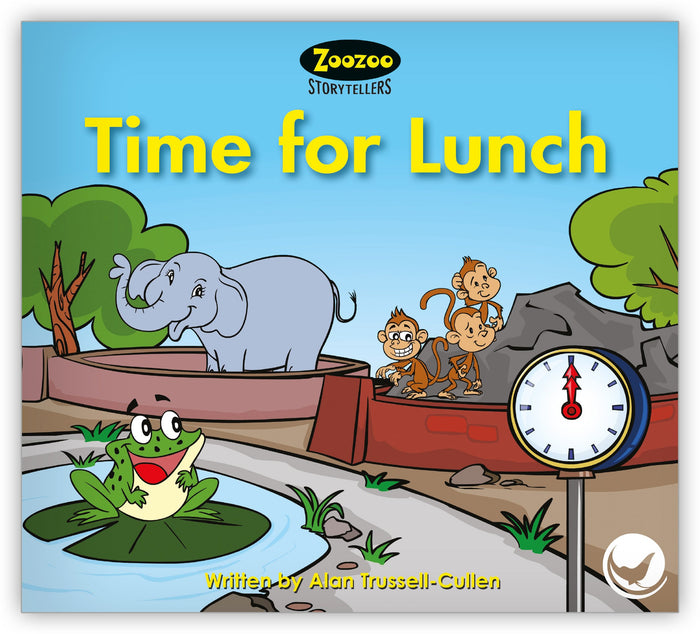 Time for Lunch Leveled Book