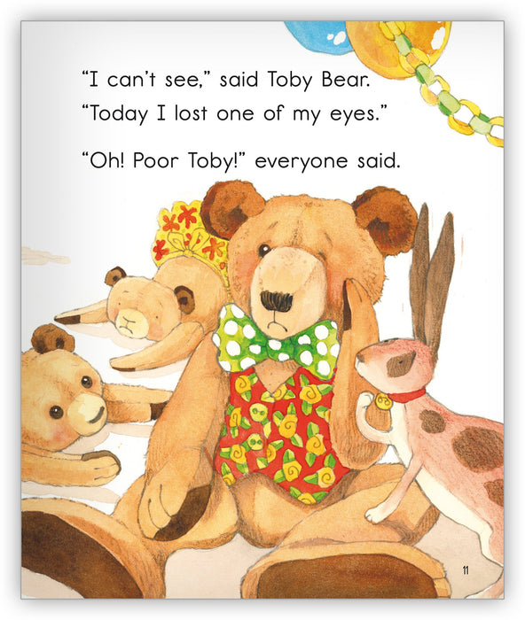 Toby Bear from Joy Cowley Collection