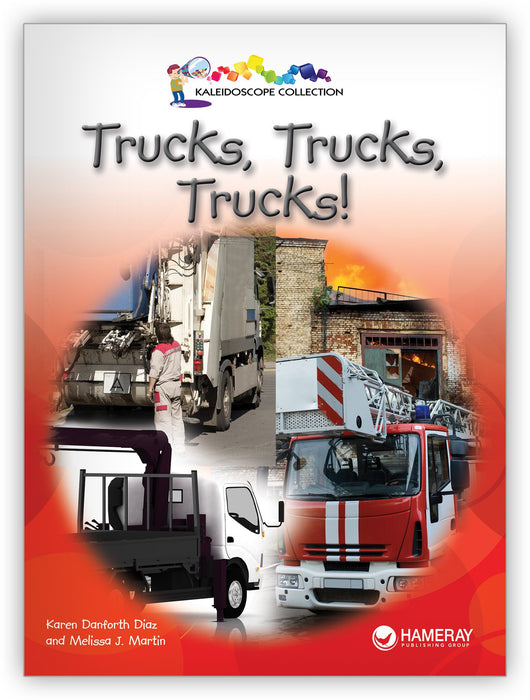 Trucks, Trucks, Trucks! Leveled Book