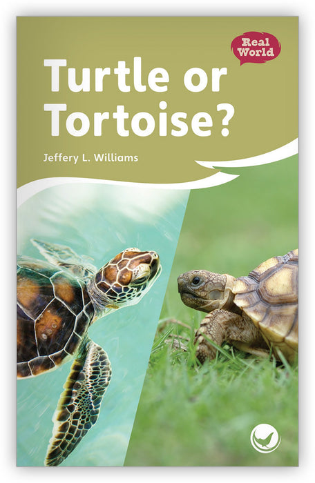 Turtle or Tortoise? Leveled Book