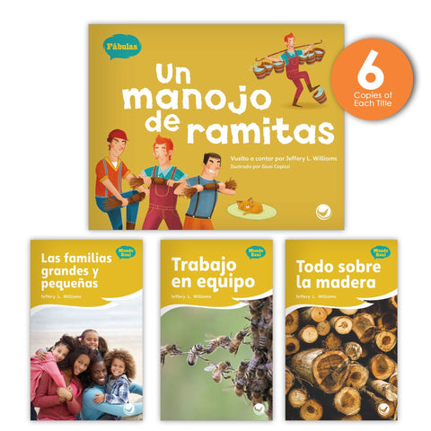 Un manojo de ramitas Theme Guided Reading Set from Fábulas y el Mundo Real