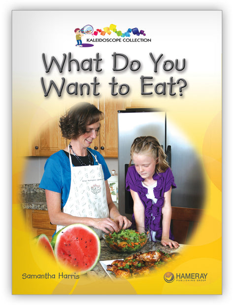 What Do You Want To Eat? from Kaleidoscope Collection