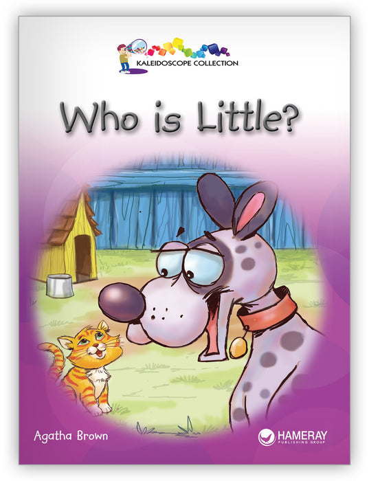 Who Is Little? Big Book Leveled Book